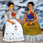 Frida Kahlo - As duas Fridas